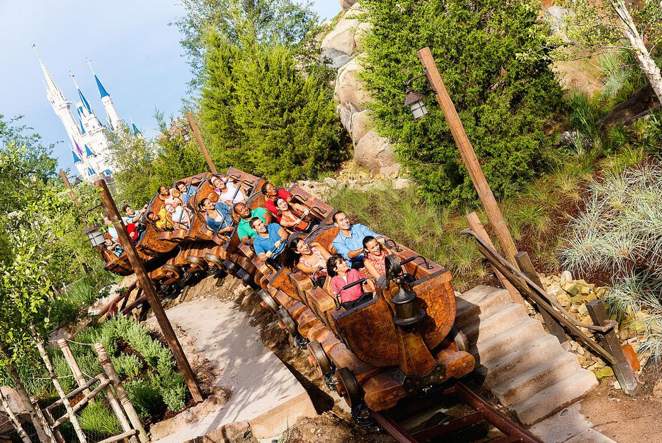 Walt Disney World's Seven Dwarfs Mine Train
