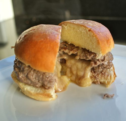 Juicy Lucy Cheeseburger