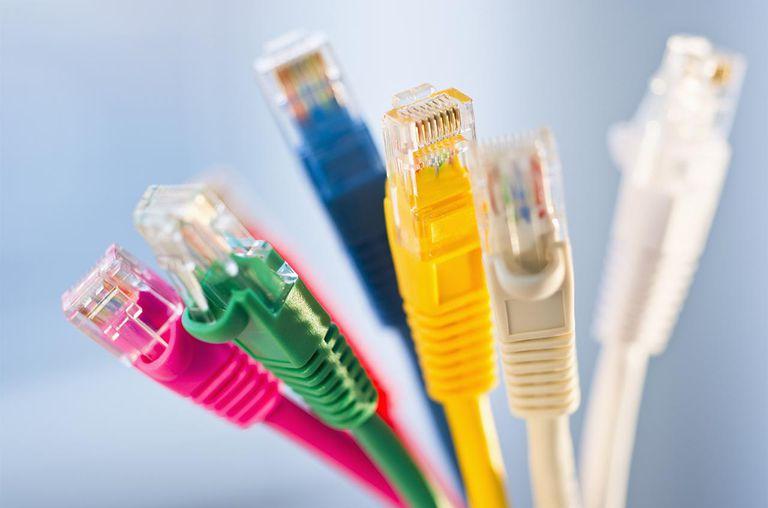Ethernet Internet Cables.