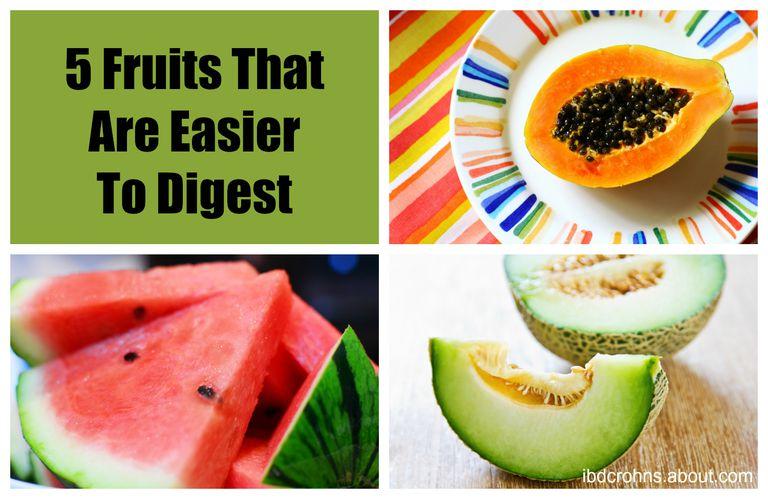 papaya, watermellon, and a honey dew melon