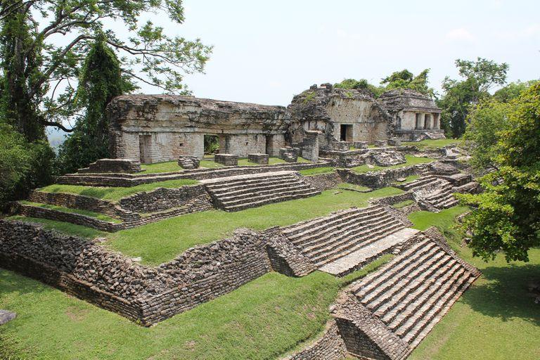 North Group at Maya Palenque
