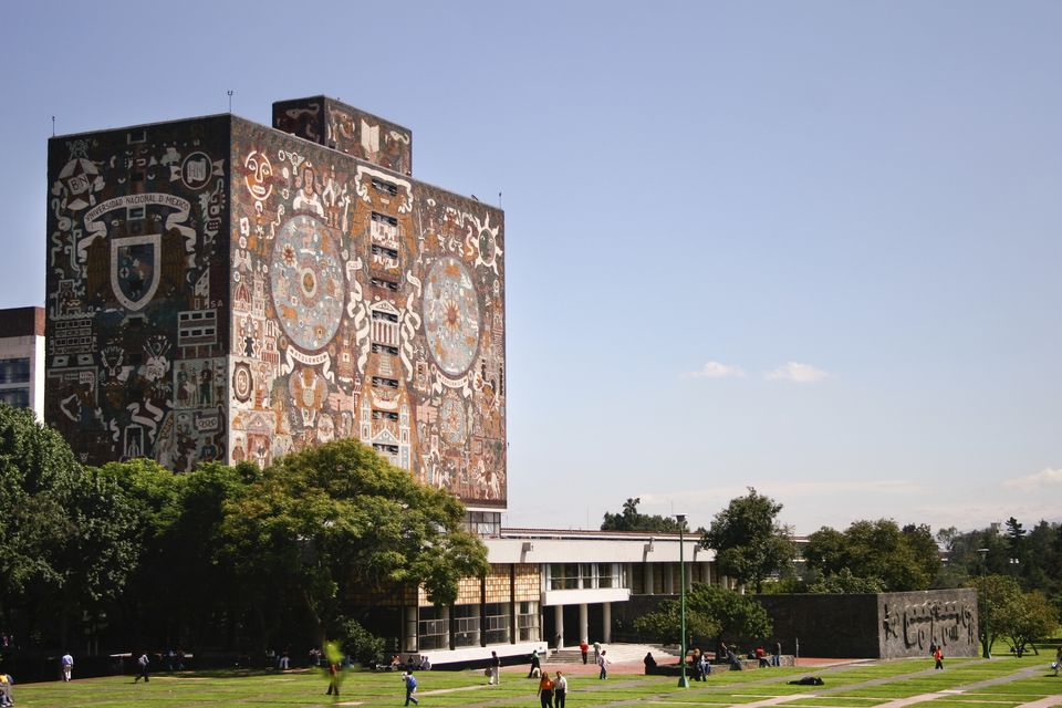 Library Building of the National Autonomous University of Mexico