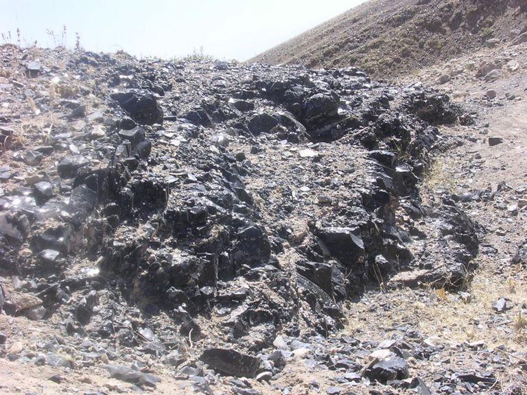 Obsidian Outcrop near Kaletepe Deresi III (Turkey)