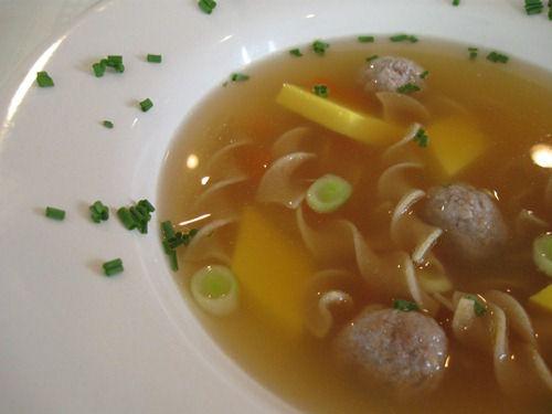 German Wedding Soup - Hochzeitssuppe