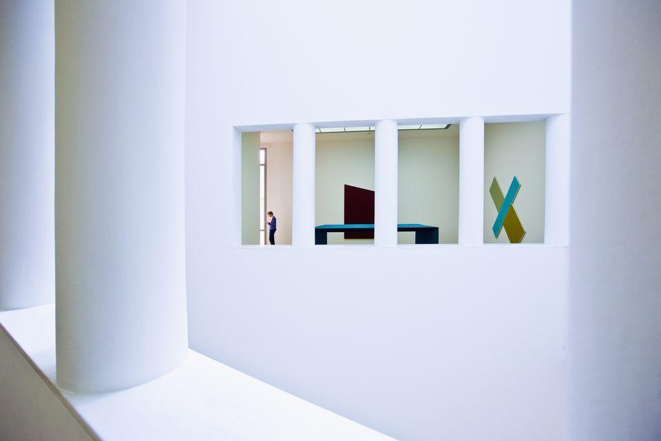 Museum für Moderne Kunst (Museum of Modern Art), particular of the building