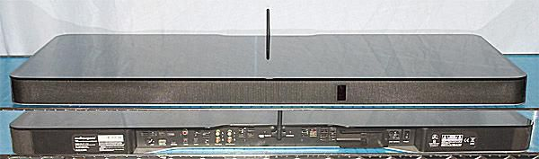AudioXperts 4TV 2112 Audio Entertainment Console - Front and Rear View