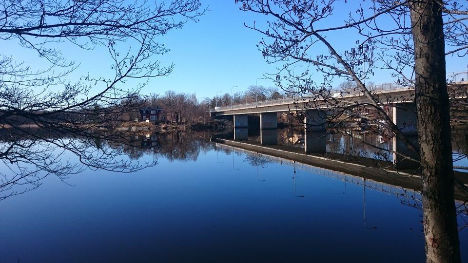 Bridge Over Magelungen Lake