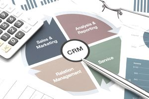 Customer Relationship Management business chart