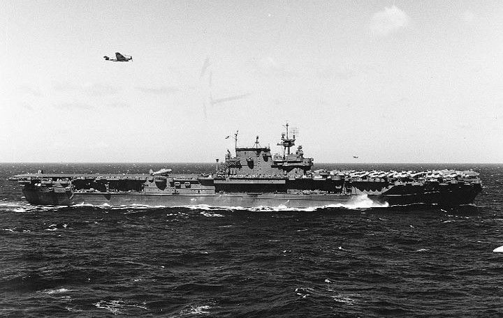 USS Enterprise (CV-6) during World War II