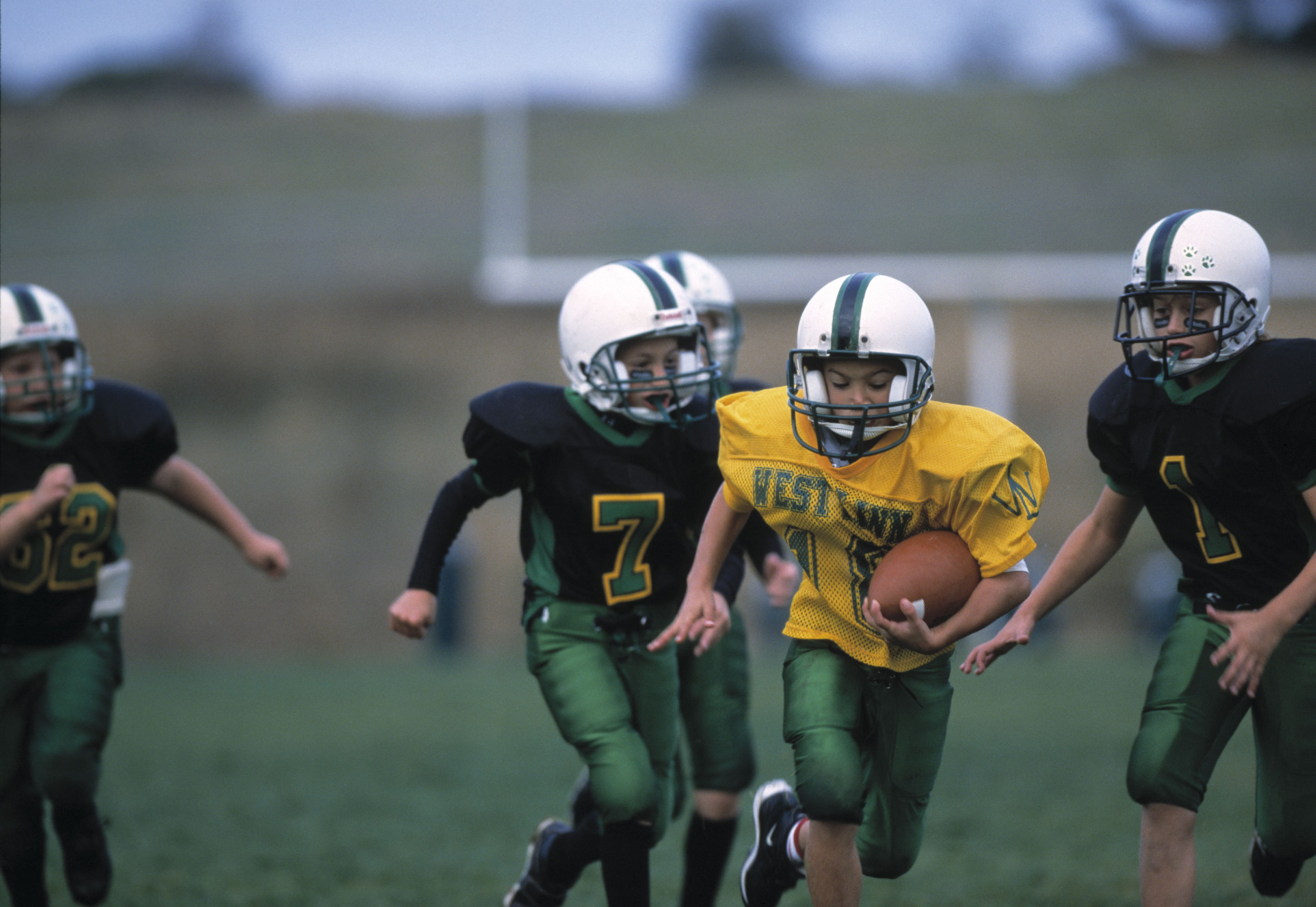 football watching party games for kids