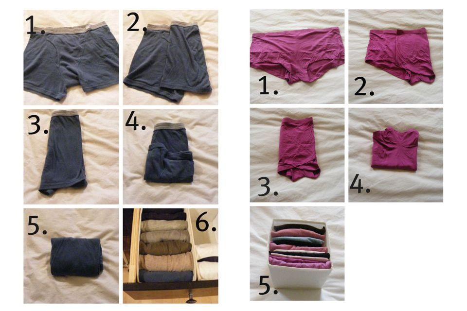 2019 year look- How to pair a fold of underwear