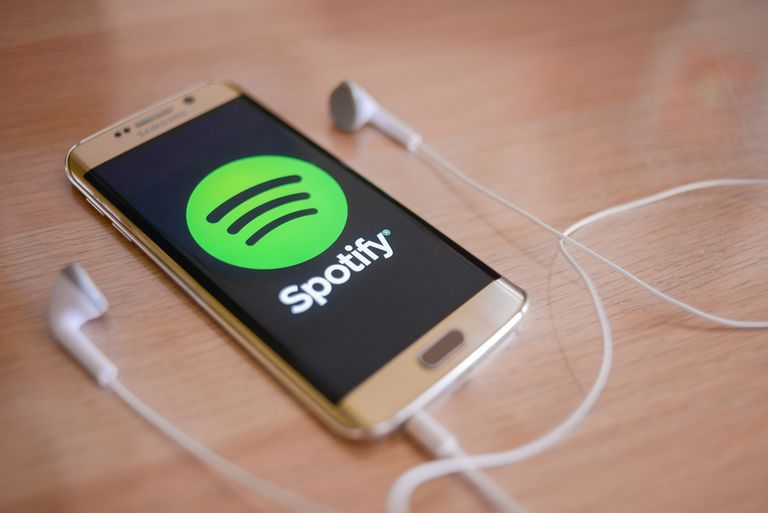 Spotify on Android device
