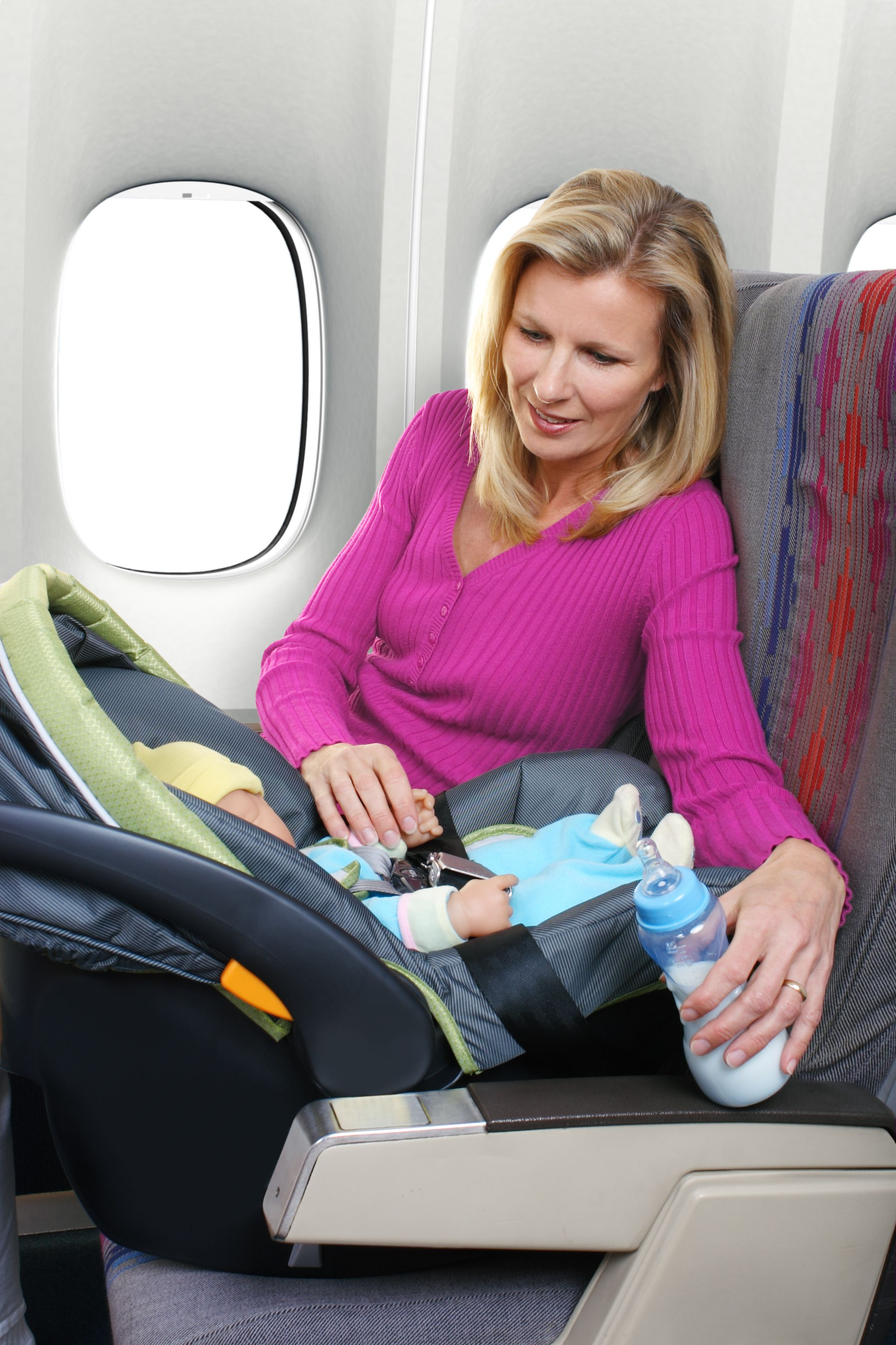Federal Airplane Seat Belt And Carseat Regulations