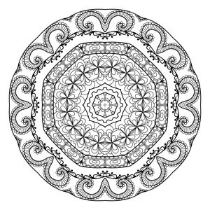 mandala coloring pages for adults from the maven circle - Coloring Pages For Young Adults