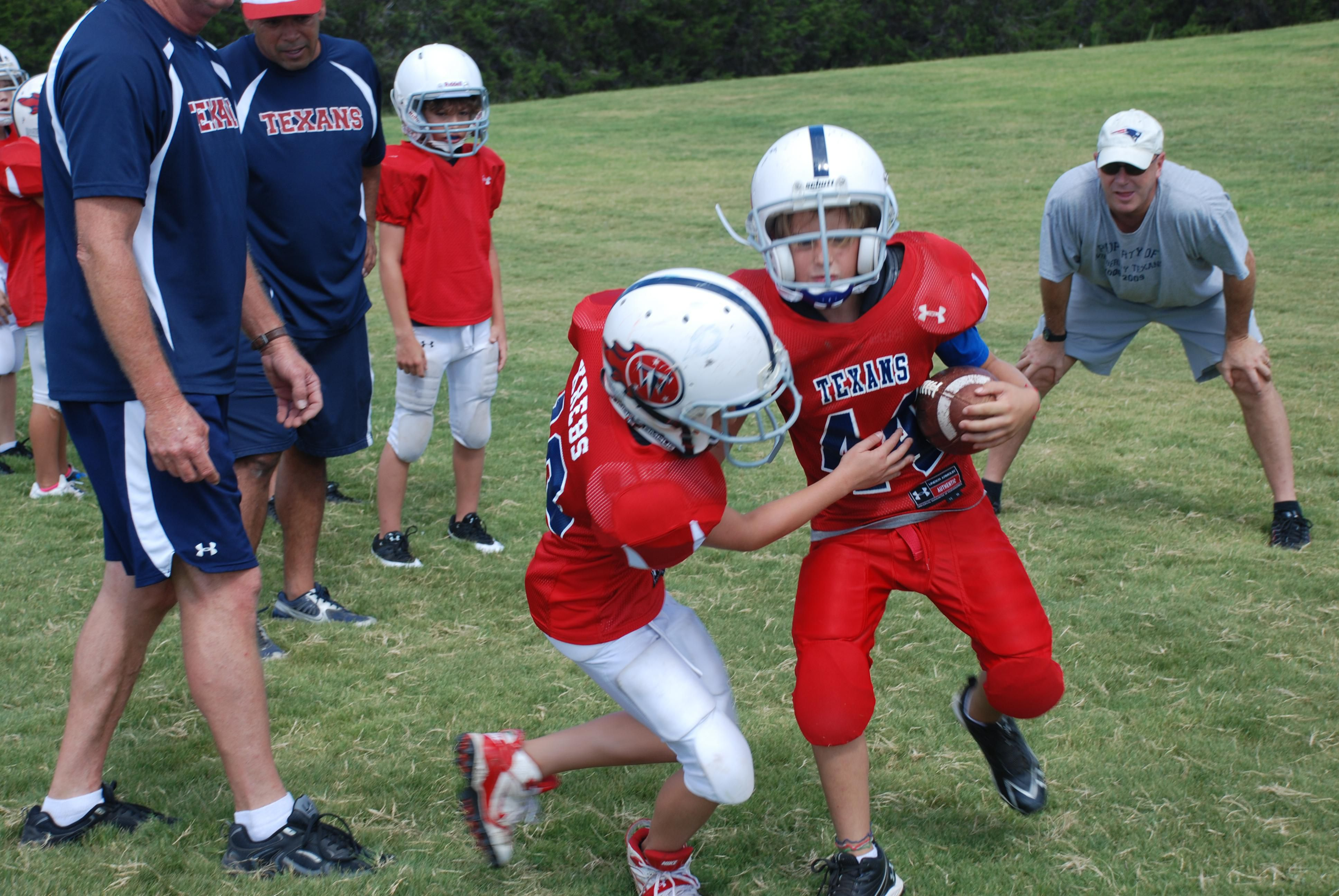 Youth Football Coach Five Tips for Youth Fo...