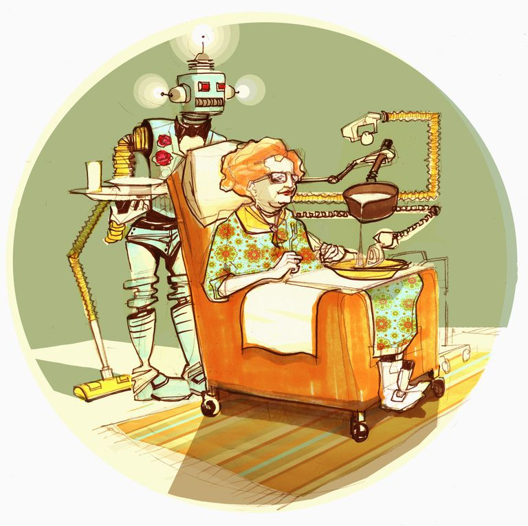 Are Robots Going to Look After You When You Get Old