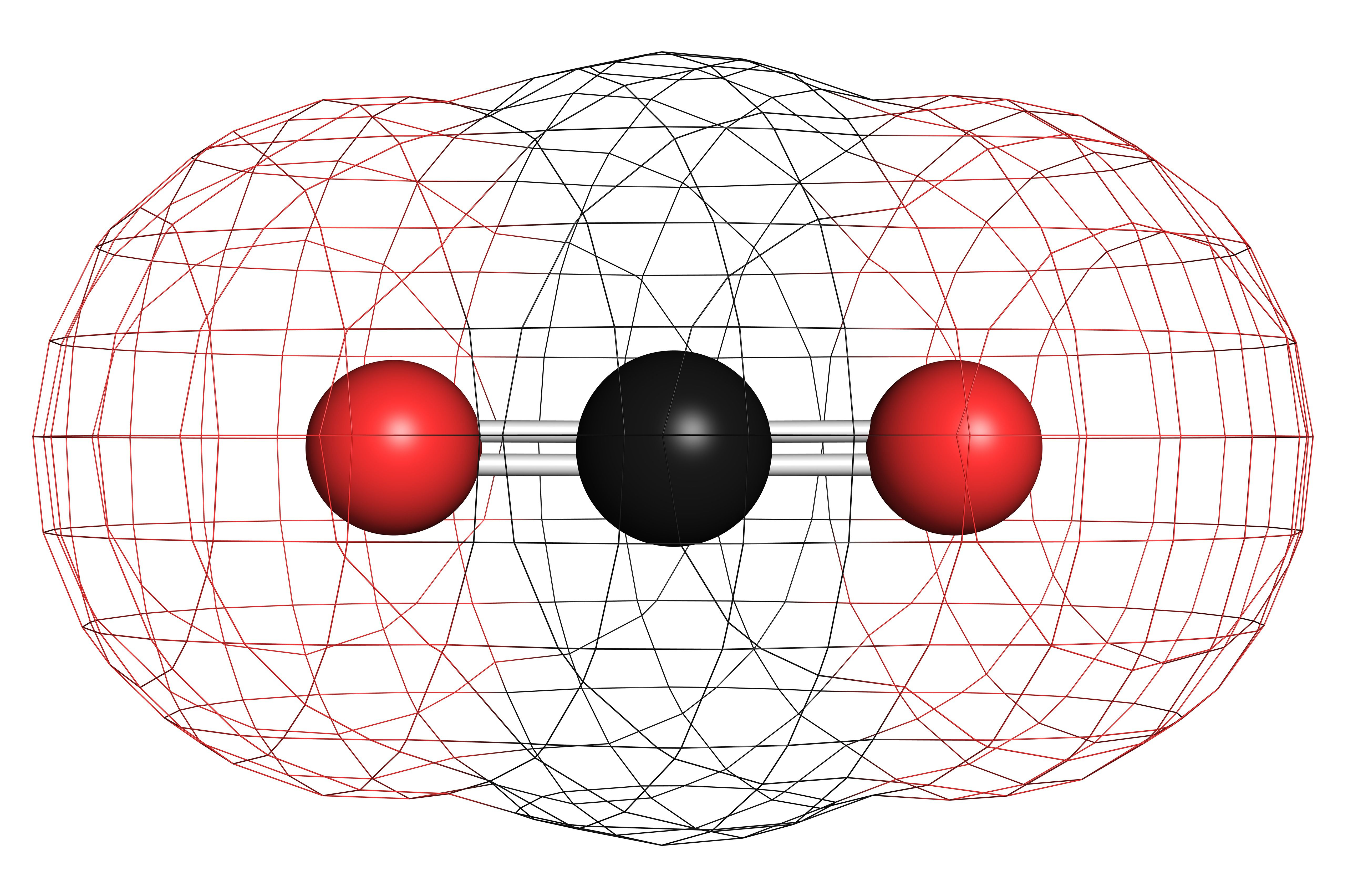 How to draw a lewis structure carbon dioxide is a linear molecule with two o h bonds that are 180 degrees apart pooptronica