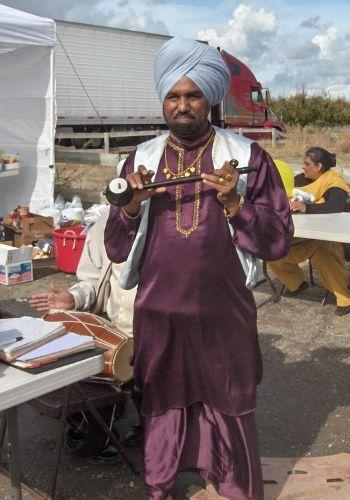 Instruments at Yuba City Nagar Kirtan