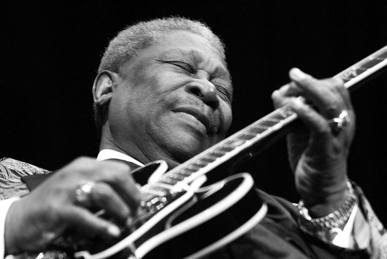 B.B. King live in Las Vegas