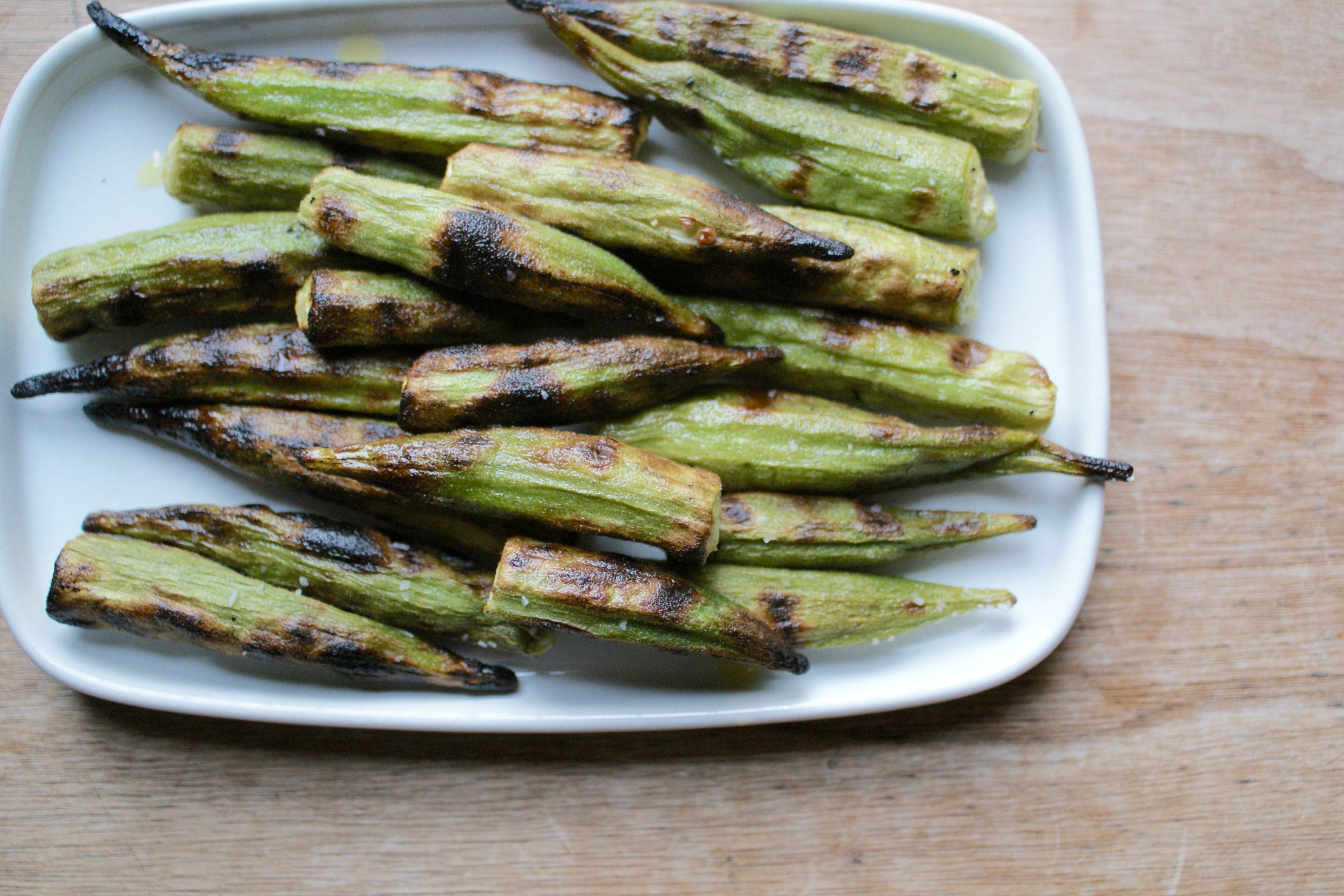 How To Grill Okra With Recipe