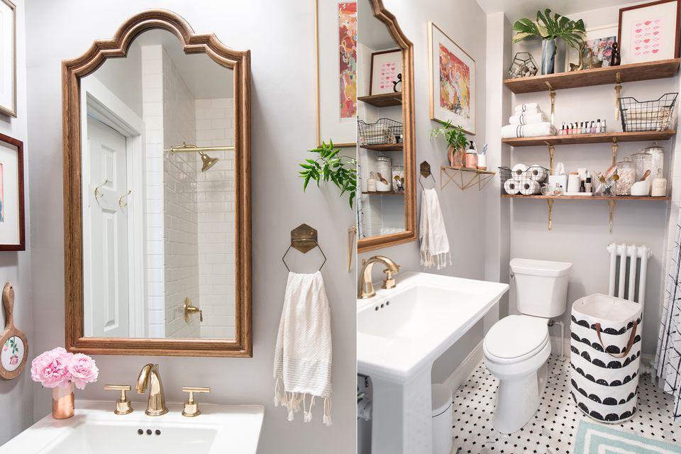 21 small bathroom decorating ideas - Bathroom wall decorating ideas small bathrooms ...