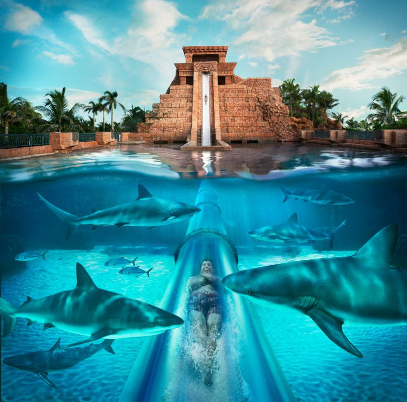 Aquaventure Water Park At Atlantis Casino And Resort - Bahamas