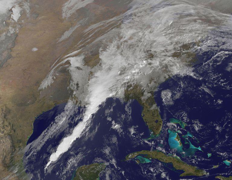 NASA GOES Satellite