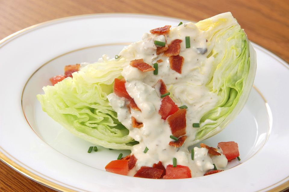 blue cheese dressing recipe, salad, north woods inn, receipts