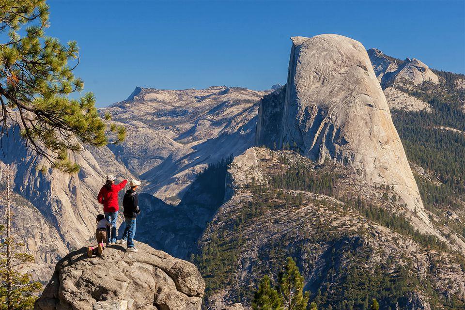 Glacier Point at Yosemite National Park