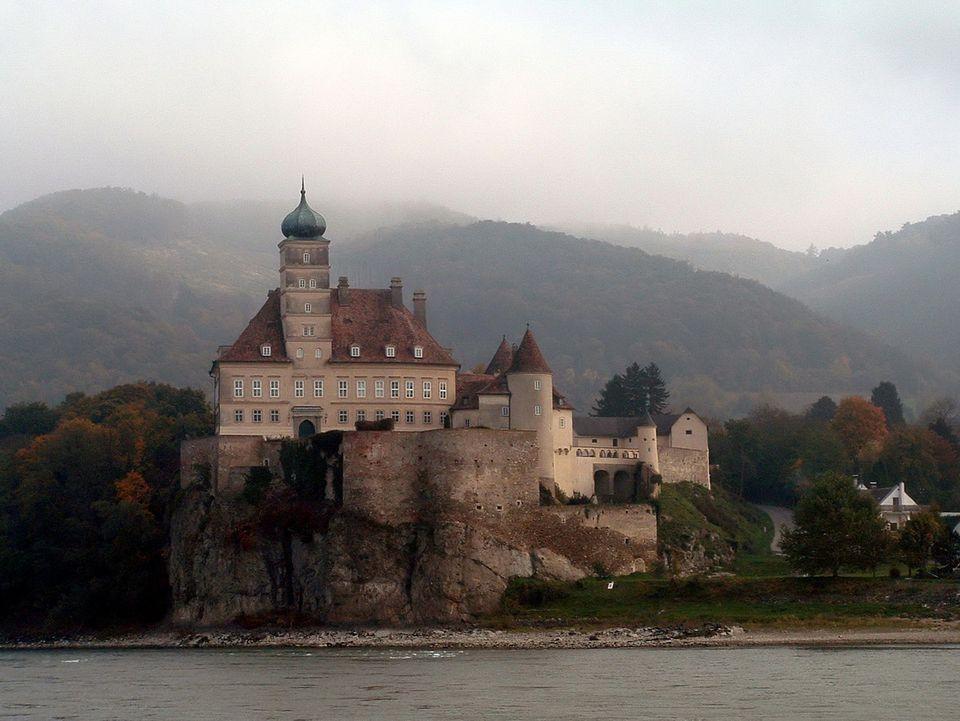Schonbuhel Castle on the Danube River in Austria