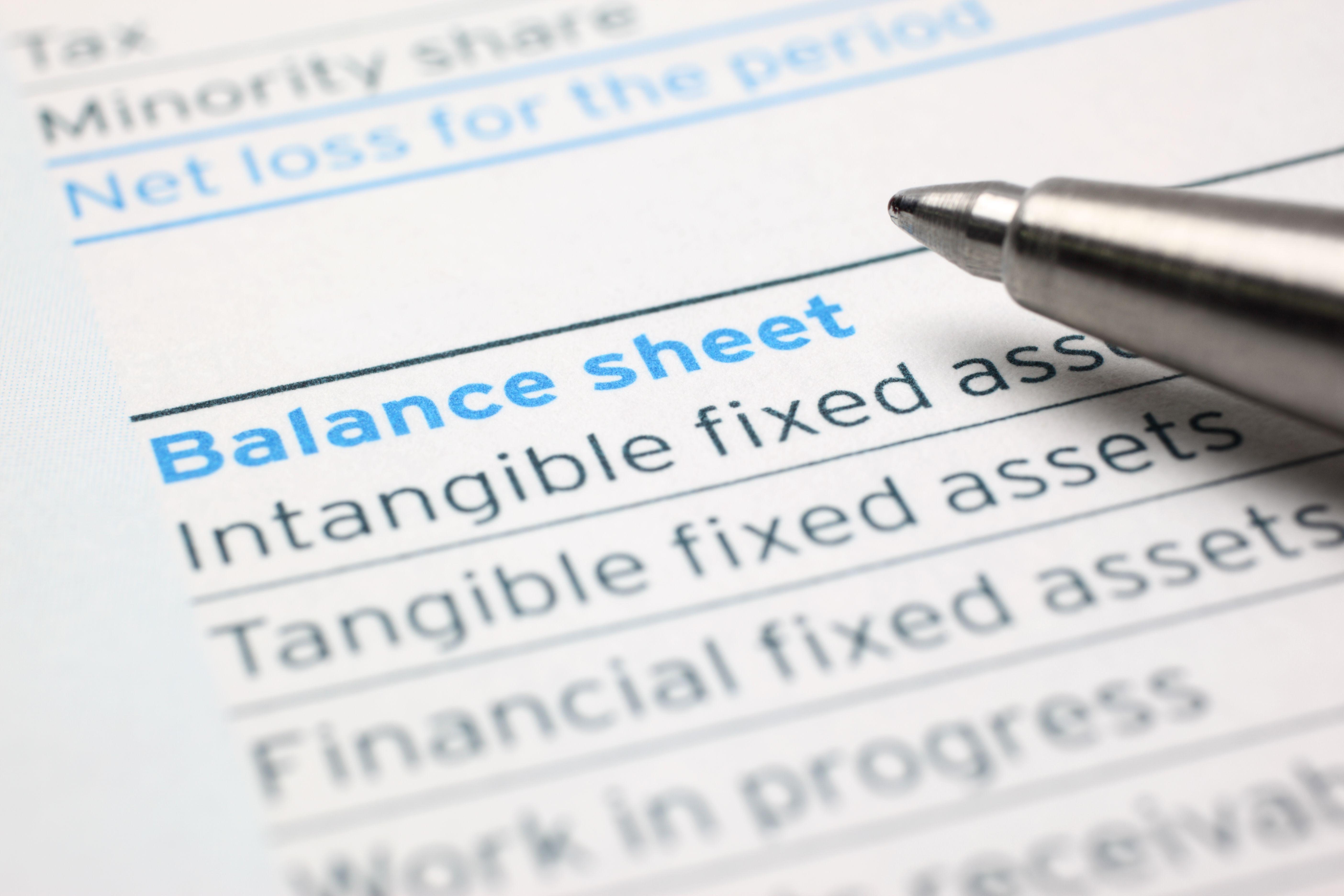 Putting It All Together Analyzing A Balance Sheet