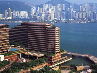 The Intercontinental by Victoria harbor