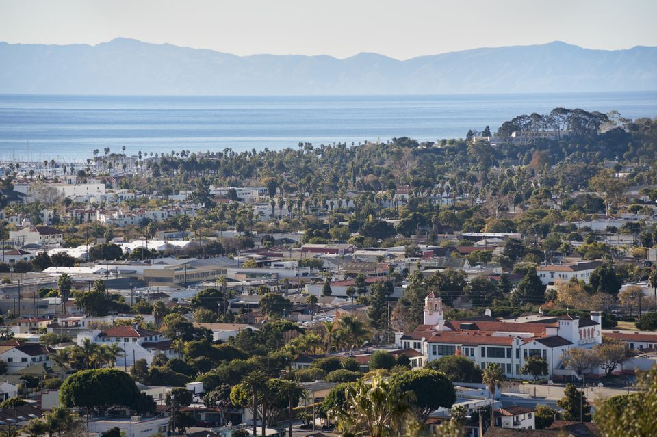 Santa Barbara, California -- a top place to visit in central California from San Diego