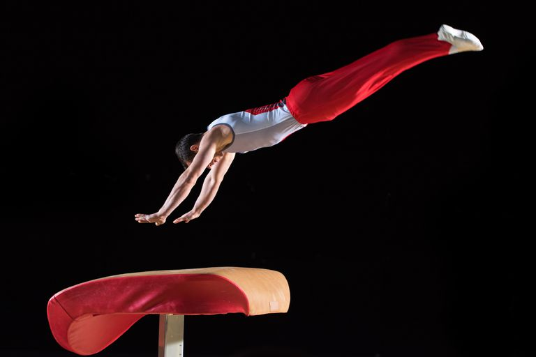 Vault in gymnastics