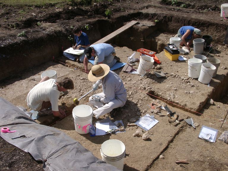 Gault Site Excavations in Progress