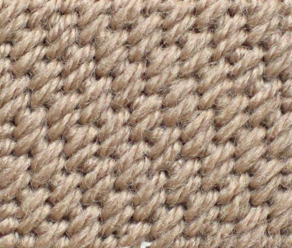 Basic Cashmere Stitch Sample