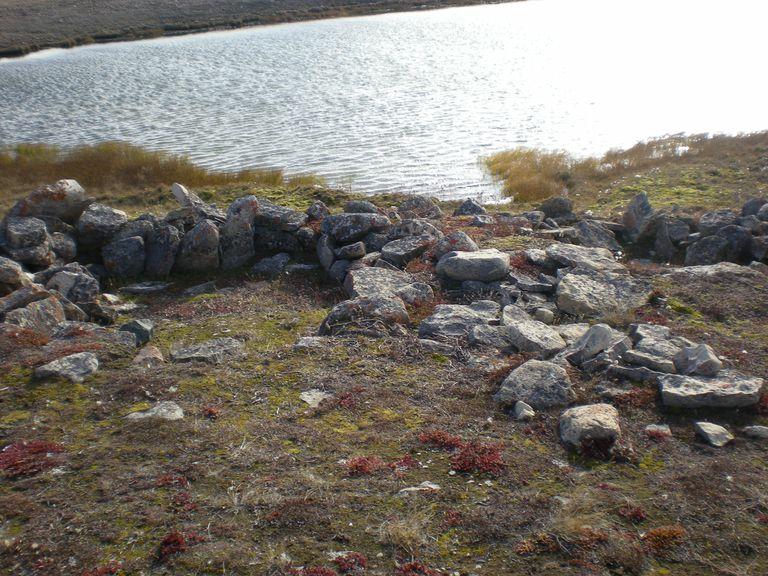 Thule Period Camp Ring, Nunavut, Canada