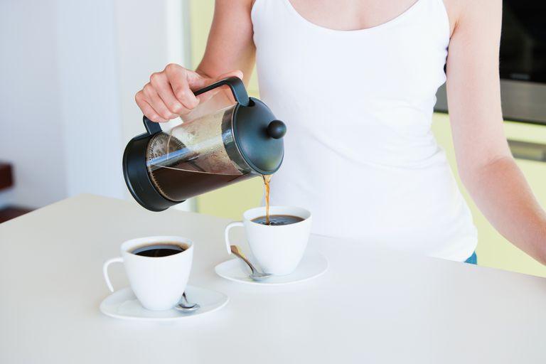 Cantidad de cafeína presente en el café