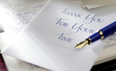Professional Thank You Letter Examples and Writing Tips