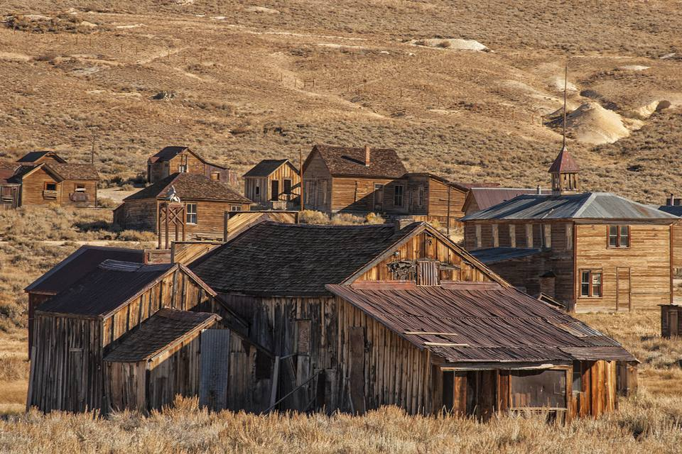 Bodie Schoolhouse and Other Buildings