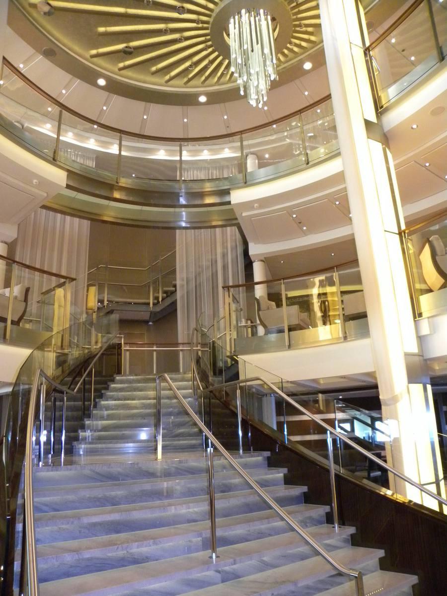 Celebrity Eclipse - Grand Staircase