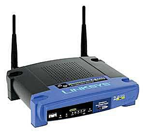 Linksys WRT54G - Wireless-G Broadband Router