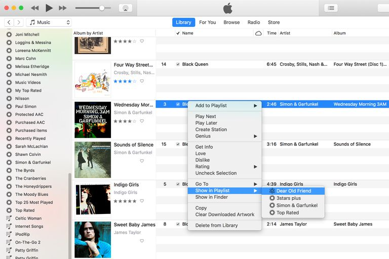 how to add songs to itunes playlist