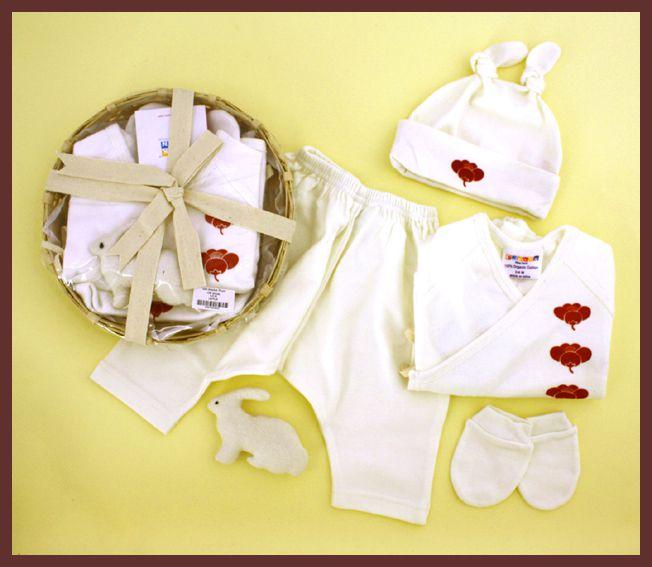 Sckoon Organic Baby Gift Basket
