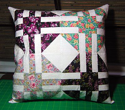 Quilt Pillow Cover Pattern: Easy Throw Pillow Cover Pattern,