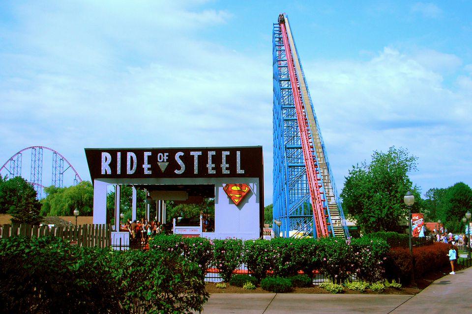 Ride of Steel at Darien Lake