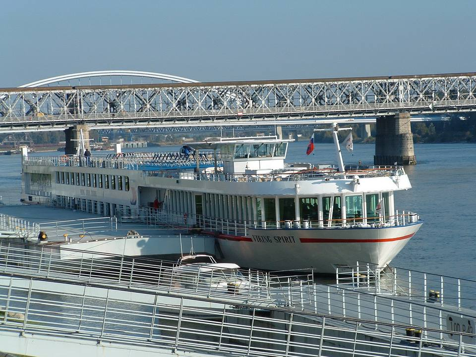 Viking River Cruises' Viking Spirit in Bratislava, Slovakia