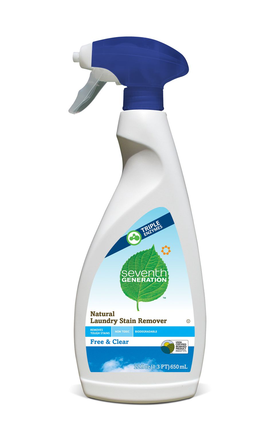 Seventh Generation Free & Clear Natural Laundry Stain Remover