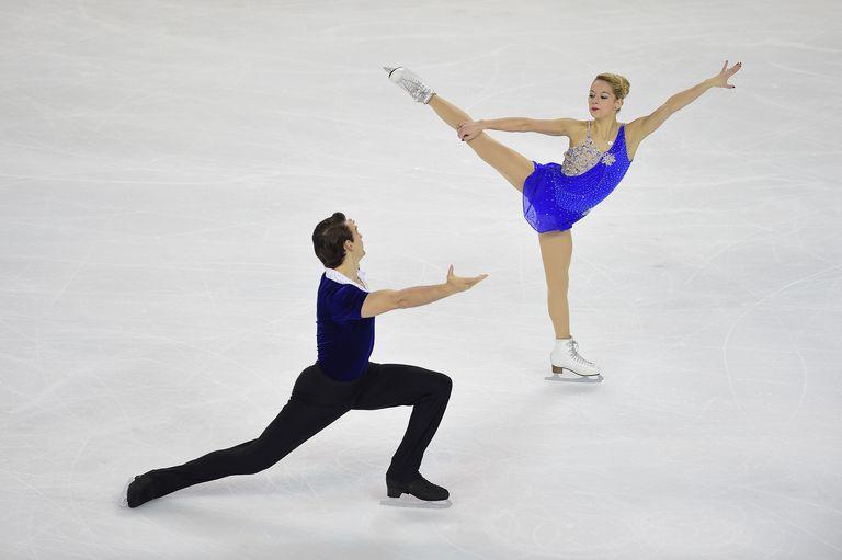 Alexa Scimea and Chris Knierim