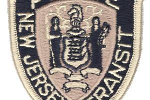 New Jersey transit police badge